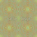 Ethno Z Green Seamless Vector Pattern Design