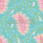 Exotic Tendrillars Seamless Vector Pattern Design