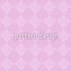 Zebralike Pink Vektor Ornament