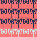 Flowerpots Flamingo Vector Design