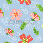 Frosting Flowers Design Pattern