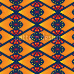 Scandinavian Flower Repeating Pattern