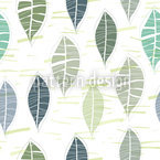 Leaves In Pastel Seamless Vector Pattern Design