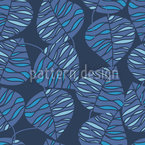 Marine Blue  Seamless Pattern