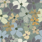 Yellow Purple Potpourri Seamless Vector Pattern Design