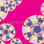 Mandala Seamless Vector Pattern Design