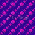 Tri Strings Seamless Vector Pattern Design