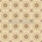 Beige Flowers Repeating Pattern