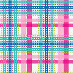 Bright Tartan Design Pattern