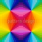 Abstrakter Regenbogen Musterdesign