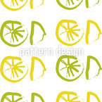 Sunny Lemon Repeat Pattern