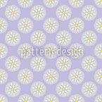 Fantasy Pit Lilacs Seamless Vector Pattern Design