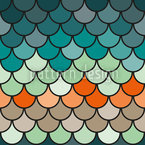 Scales Seamless Vector Pattern Design