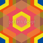 Colorful Hexagons Seamless Pattern