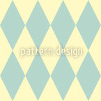 Pastel Harlequin Vector Ornament