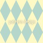 Pastell Harlequin Vektor Ornament