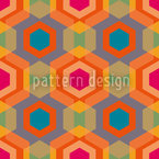 Hexagonia Seamless Vector Pattern