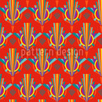 Bright Art Deco Vector Pattern