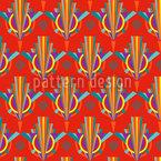 Strahlendes Art Deco Vektor Muster