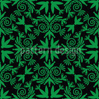 Green Folk Vector Design