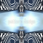 Zebra Licht Nahtloses Vektormuster
