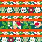 Folk Seamless Vector Pattern Design