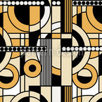 Beige Verzierung Muster Design