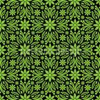 Grünes Durcheinander Nahtloses Vektormuster