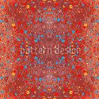 Fleckig Rot Muster Design