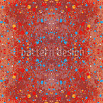 Stained Red Pattern Design
