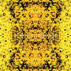 Fleckig Gelb Nahtloses Vektormuster