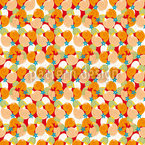 Happy Summer Seamless Vector Pattern Design