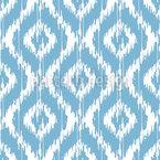 Ikat Damast Ogee Muster Design