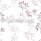 Twiggy Pastel Seamless Vector Pattern Design