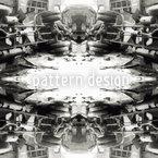 Acidente Design de padrão vetorial sem costura