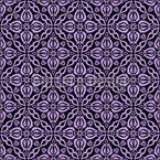 ViolettViolettViolett Nahtloses Vektormuster