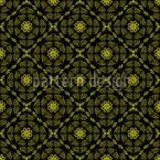Yellow Paradies Seamless Vector Pattern