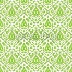 Grünes Feuer Nahtloses Vektormuster
