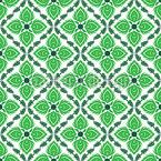 Fesselndes Grün Nahtloses Vektormuster