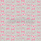 Bows Seamless Vector Pattern