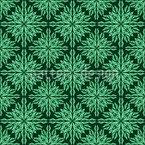 Blätterhypnose Nahtloses Vektormuster