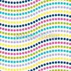 Wave Dots Pattern Design
