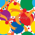 Partytime Seamless Vector Pattern Design