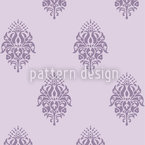 Candelabra Seamless Vector Pattern Design
