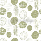 Green Light Seamless Vector Pattern Design