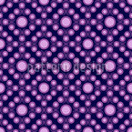 Violet Dots Vector Ornament