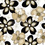 Blüten Party Nahtloses Vektormuster