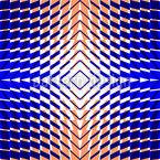 Kaleidoskop Zwei Nahtloses Vektormuster