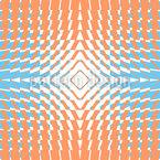 Kaleidoskop Drei Nahtloses Vektormuster