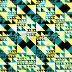 Triangular 2 Seamless Vector Pattern